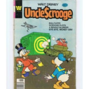 Uncle Scrooge #167 1979 Comic Book Walt Disney